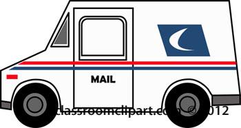 350x186 Truck Clipart Postal Truck 1 25 12