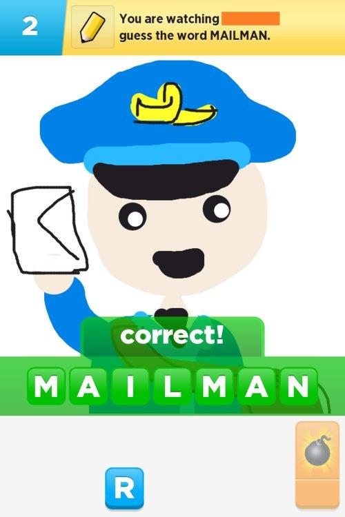 500x750 Mailman Drawings