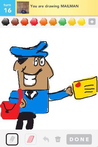320x480 Mailman Drawings