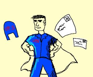 300x250 Super Mailman (Drawing By Insanemidget)