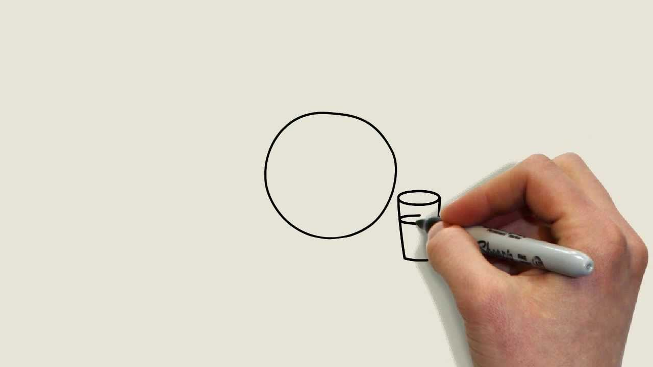 1280x720 How To Make Whiteboard Drawing, Whiteboard Drawing Video Animation