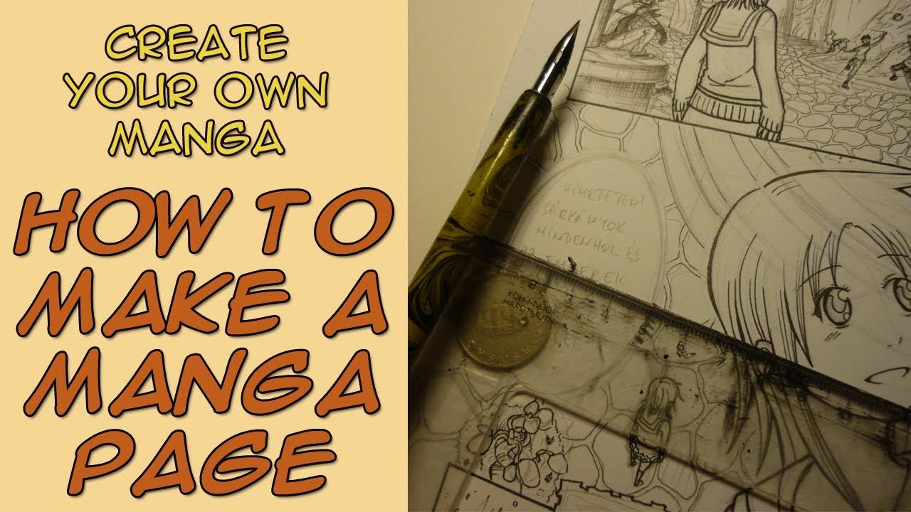 1280x720 Create Your Own Manga