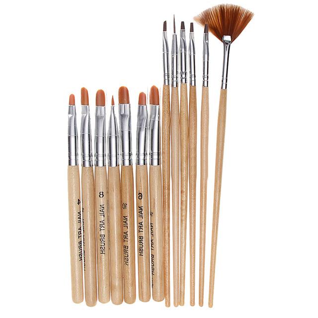 640x640 15pcset Nail Makeup Brush Tools Beauty Nail Art Decoration Print