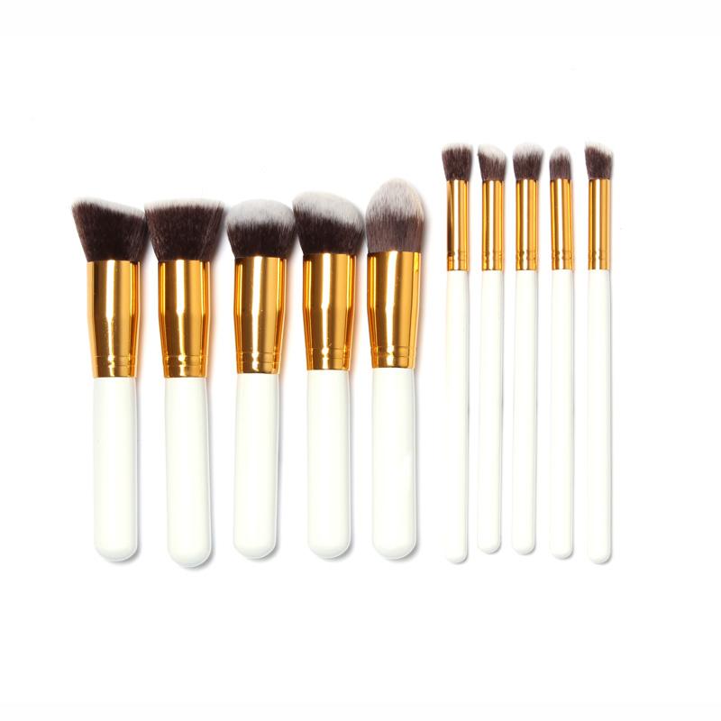 800x800 10 Pcs Professional Makeup Brushes Set Makeup Brushes Kit Free