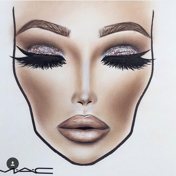 750x750 Pin By Brooke Mcmurray On Makeup Inspiration Face