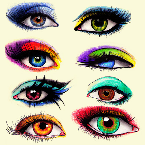 500x500 Colored Eyes By Damnblackheart