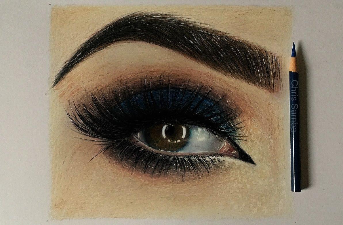 1192x782 Drawing Realistic Eyes