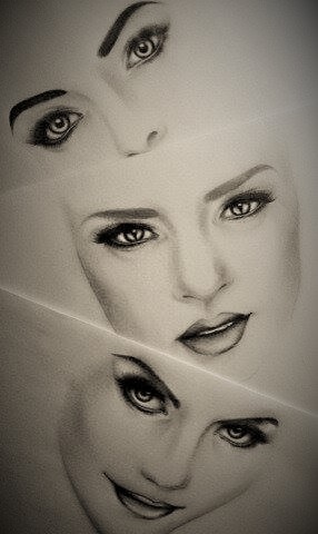286x480 Face Makeup Drawings By Dimplest