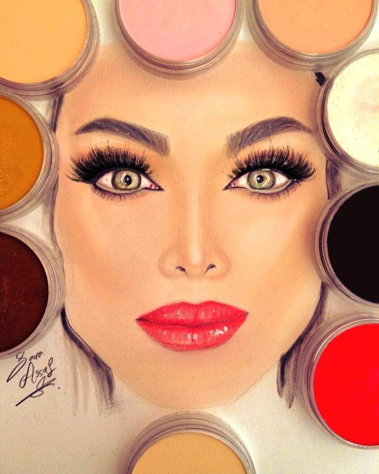 768x960 How To Paint Face Skintones Using Panpastels By Sara Assaf