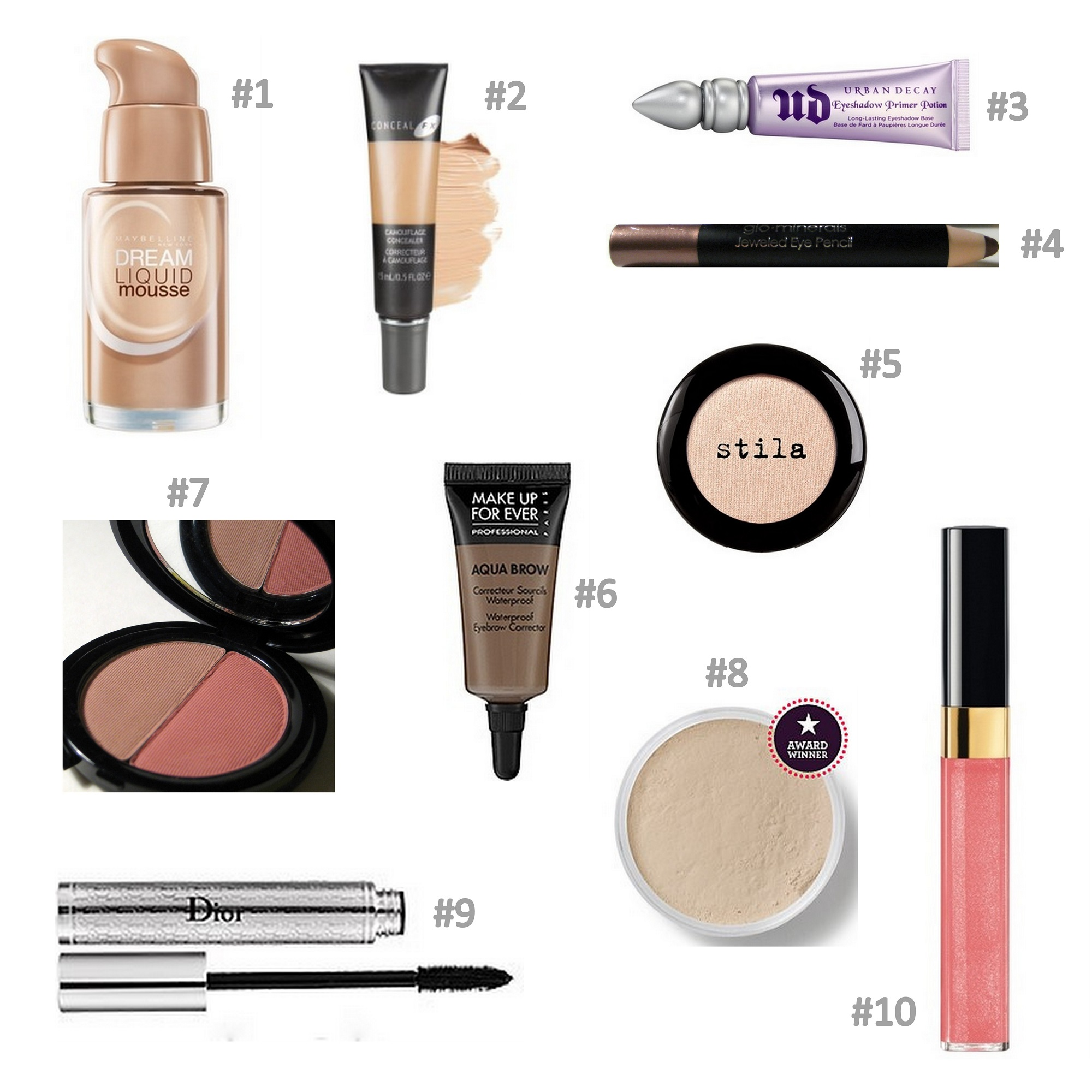 2000x2000 10 Products, 10 Minutes To An Easy Makeup Look Beautypendence