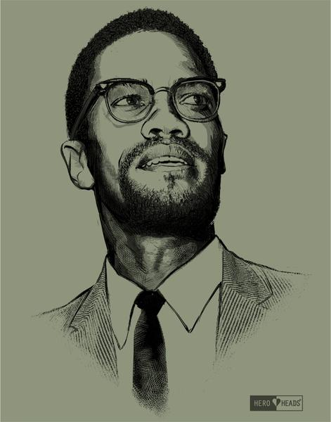 malcolm x drawing at getdrawings com free for personal use malcolm