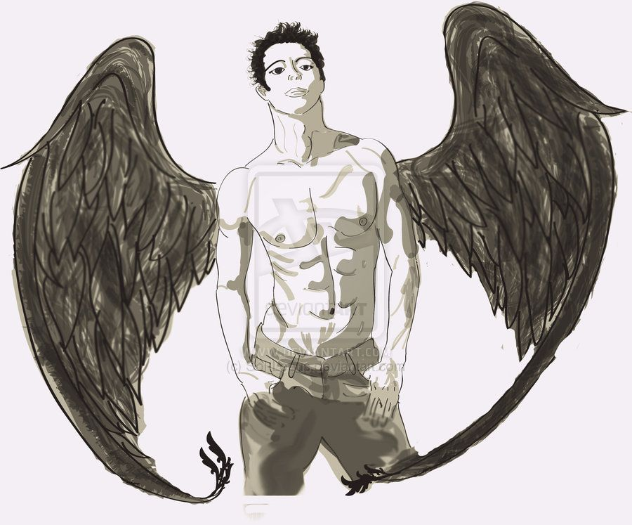 900x747 Pin By Girl Gamer On Draw This! Wings Male Angels