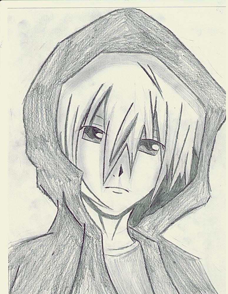 775x1000 Anime Boy In Hoodie By Xxthaixx101