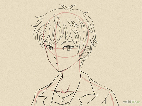 600x450 draw a manga face male manga face and drawings