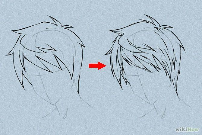 670x447 Draw Anime Hair Anime Hair, Draw Hair And Female Hairstyles