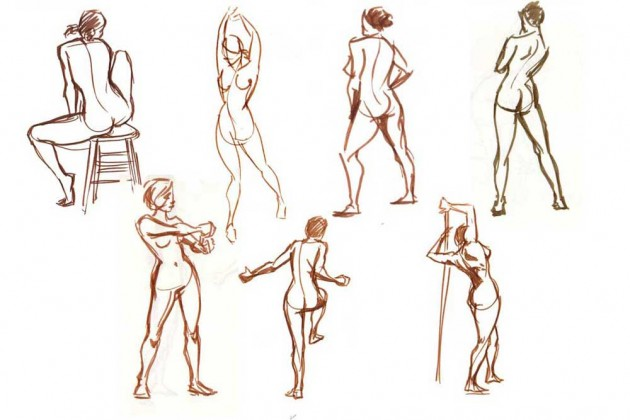 630x420 Drawing Male And Female Body Tips And Technique