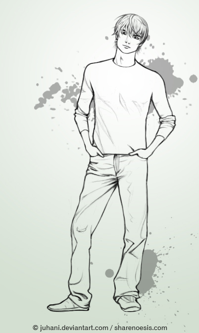 Male Body Drawing at GetDrawings com | Free for personal use