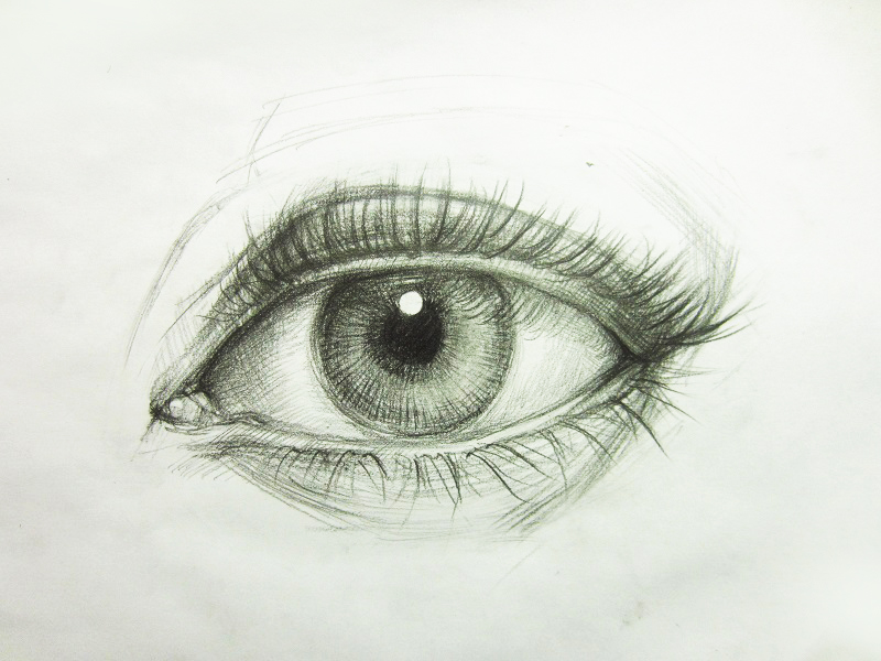 800x600 How To Draw A Realistic Eye Mike Luan Dao