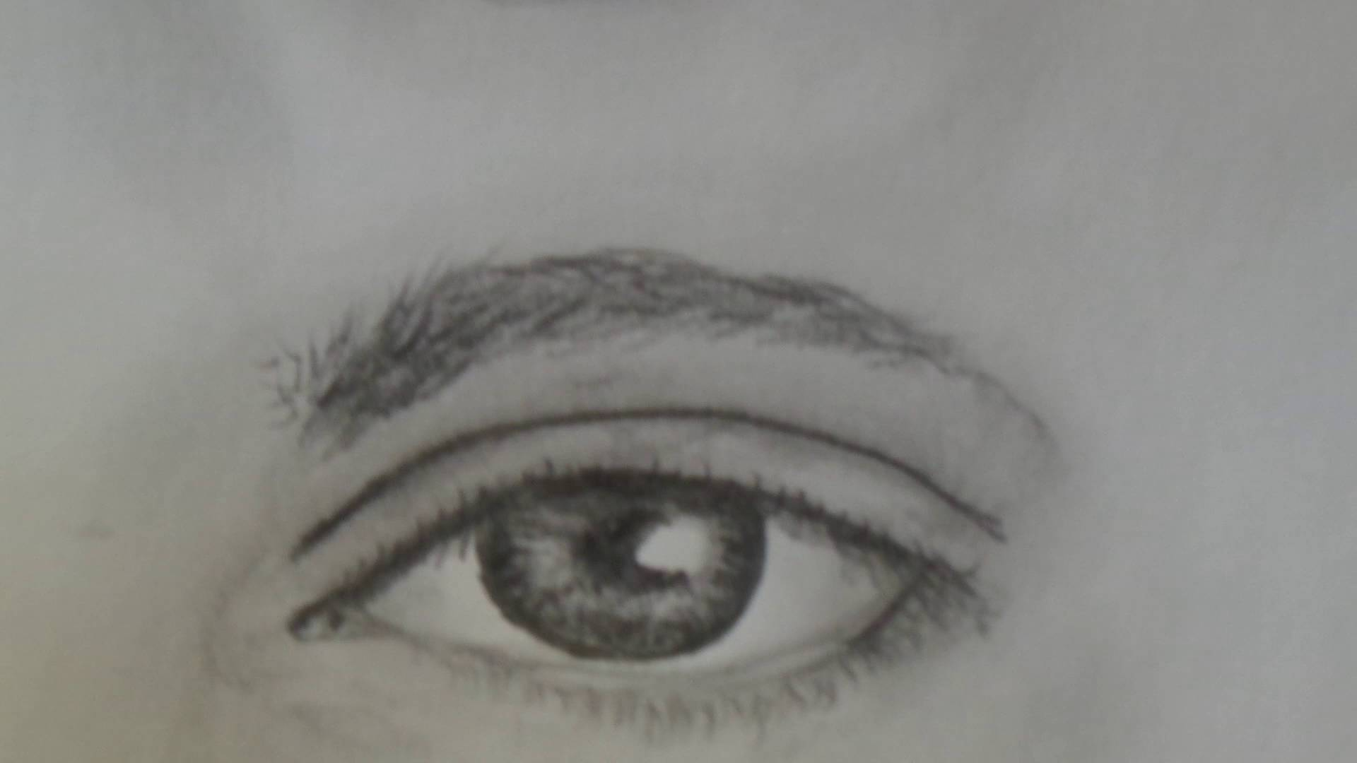 1920x1080 How To Draw A Realistic Male Eye For Beginners, Step By Step