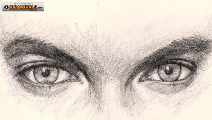 700x396 How To Draw Eyes For Man
