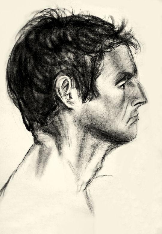 541x780 Male Side Profile Study By Beawasherexo