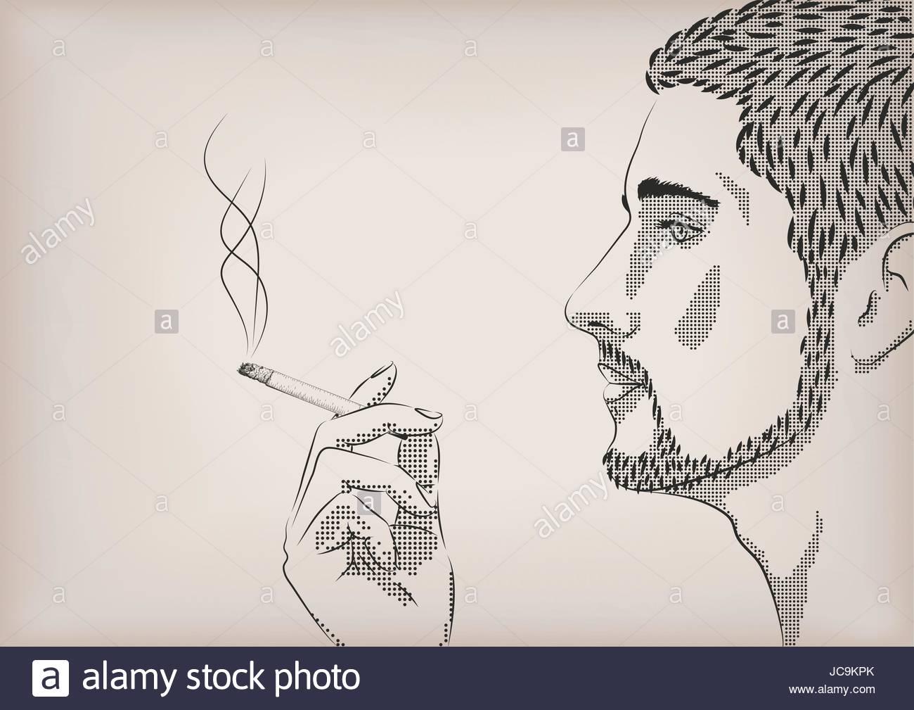 1300x1009 Men Male Person Smoke Smoking Cigarette Tobacco Hand Model Face