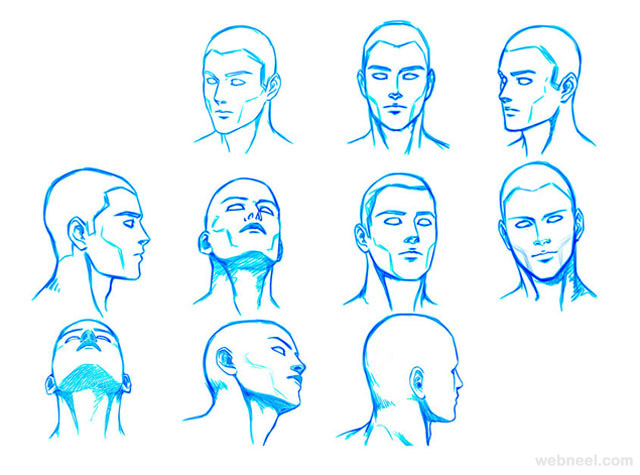 640x475 How To Draw A Face
