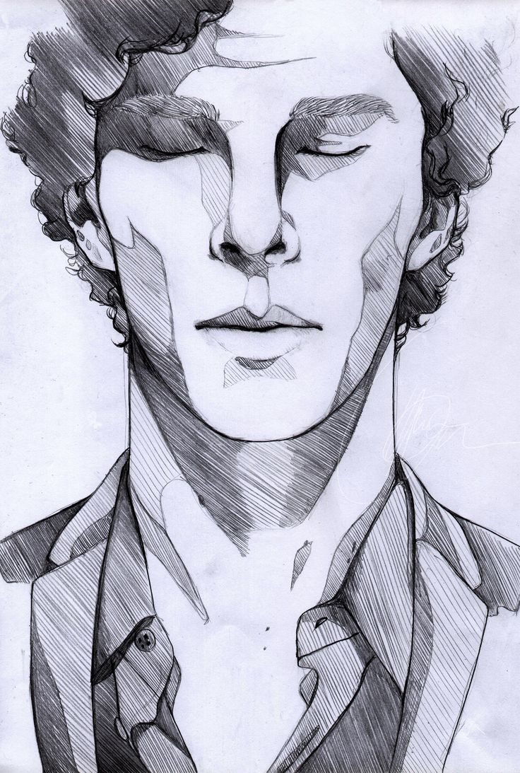 736x1093 Male Face Drawing Easy How To Draw Male Faces
