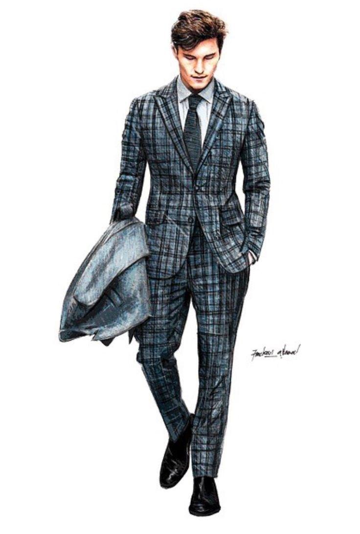 736x1092 Men Fashion Drawing Fashion Ideas