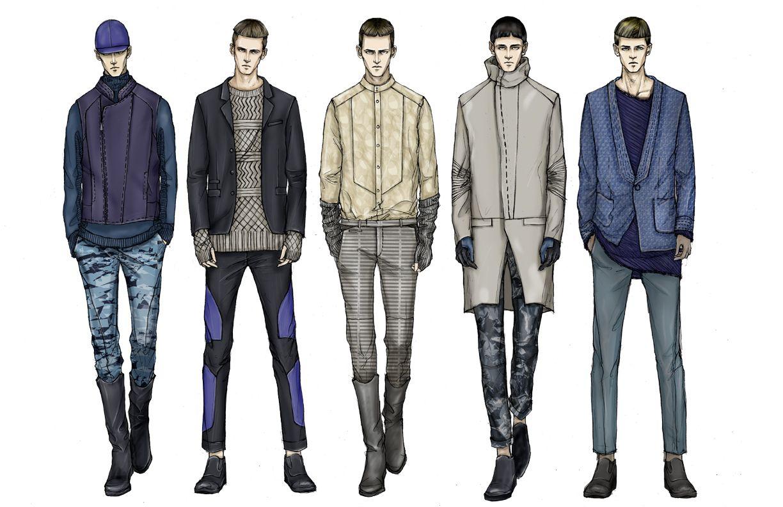1224x792 Fashion Illustration Men Fashion