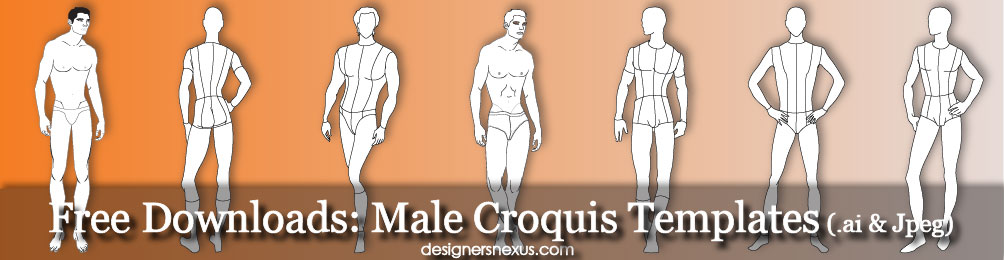 Male Figure Drawing Templates At Getdrawings Com Free For
