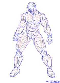 236x324 Male Drawing Template Male Anatomy Template Back By ~shintenzu