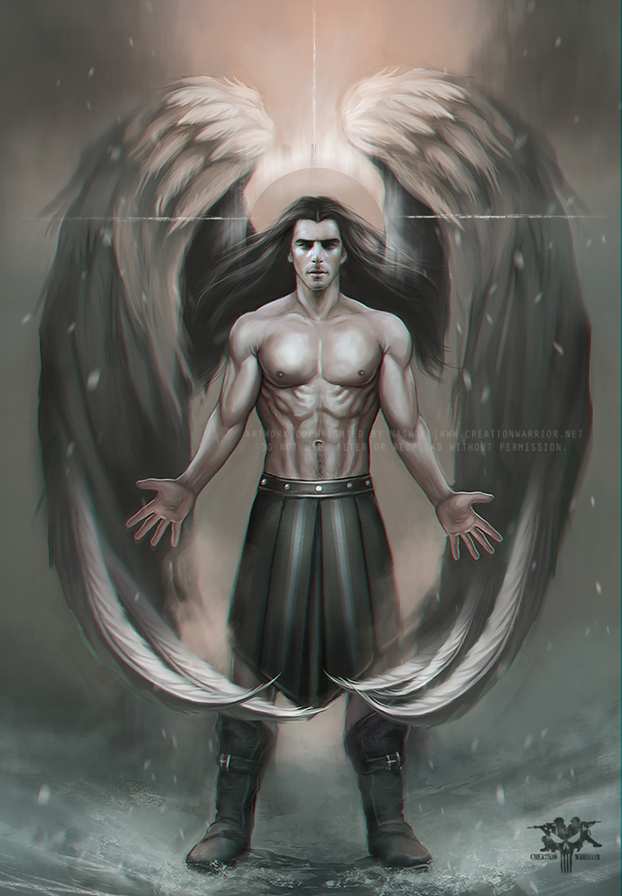689x992 Guardian Angel By Nathie