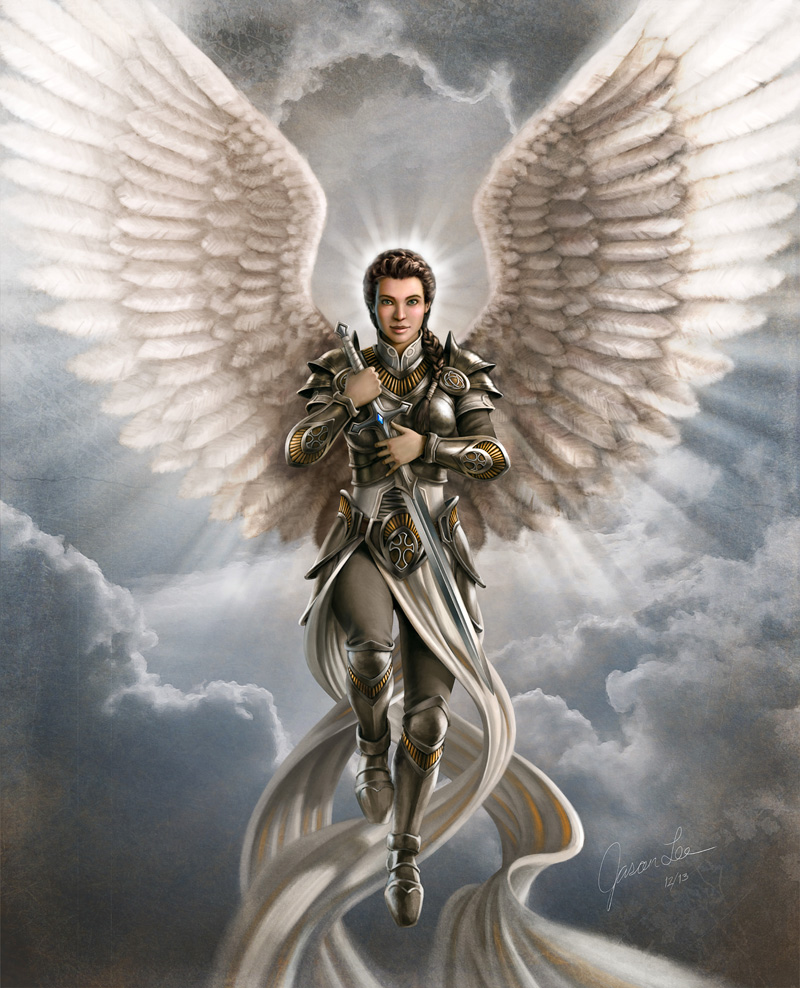 Male Guardian Angel Drawing at GetDrawings   Free download