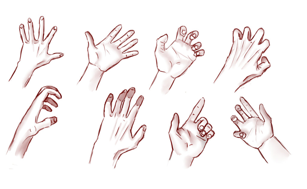 1024x632 Male Hands Practice By Akumaryoshi