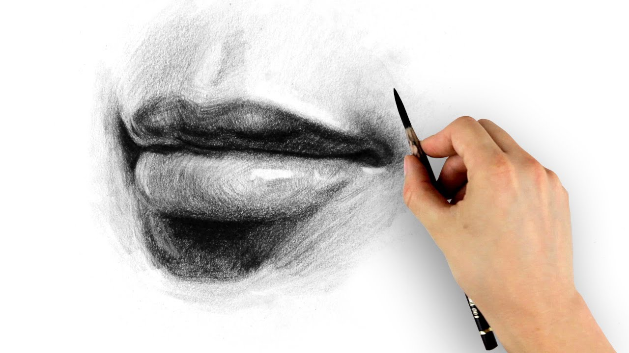1280x720 How to Draw Lips