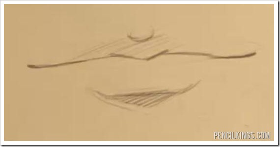 570x299 How to Draw Lips