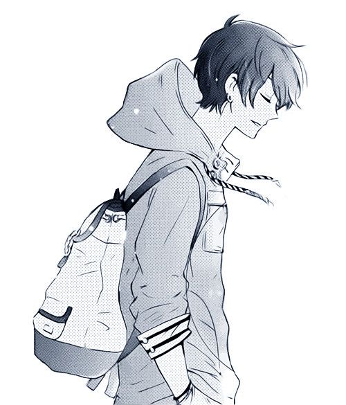 500x585 Gallery Anime Side View Male,