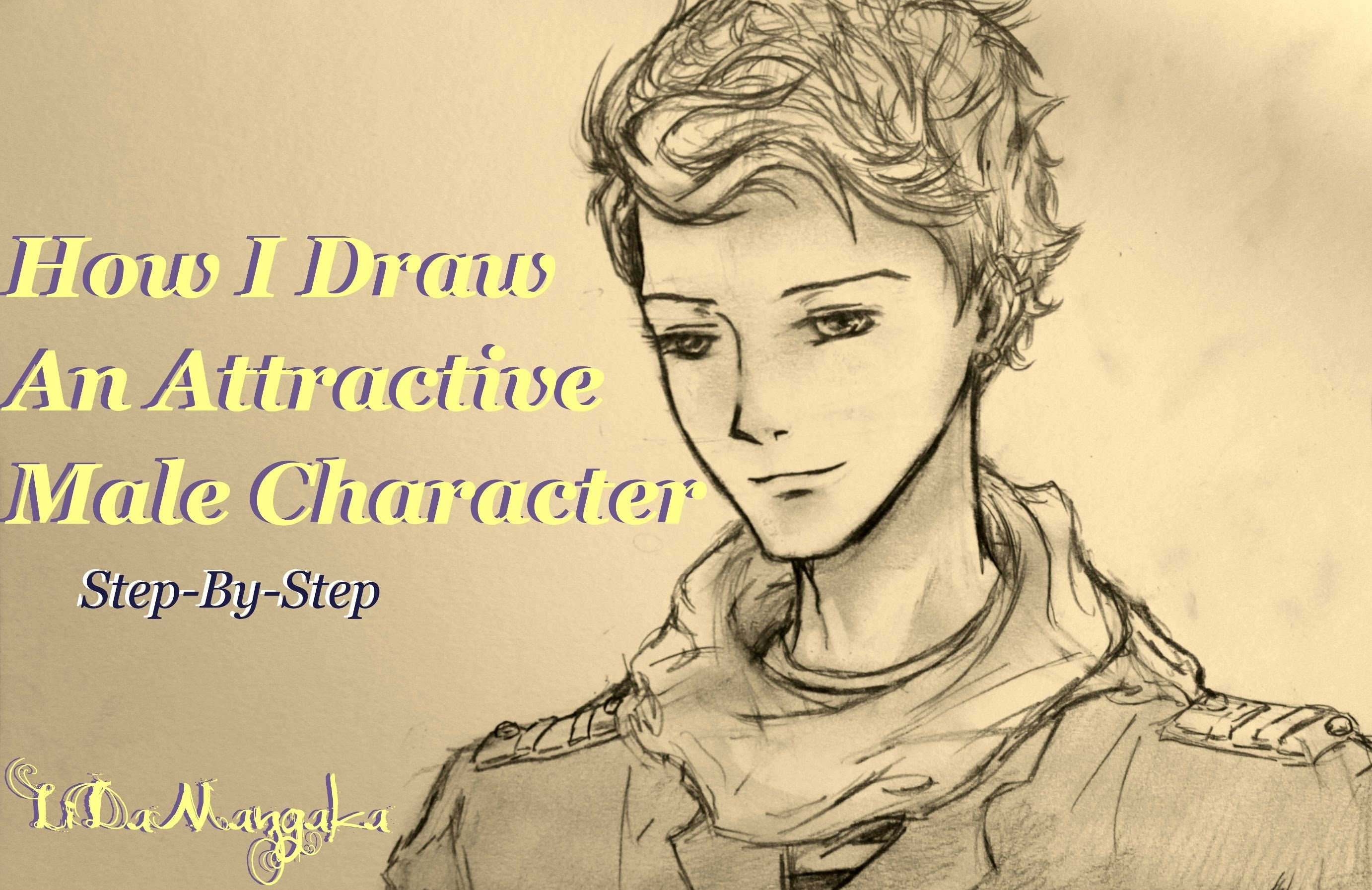 2764x1793 How I Draw An Attractive Male Manga Character