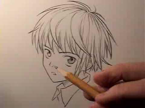 480x360 How To Draw Manga Hair Boys