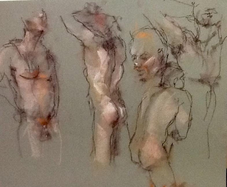 785x646 Men's Life Drawing Sessions With Male Model
