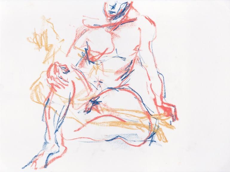 770x577 Saatchi Art Nude Figure Drawing