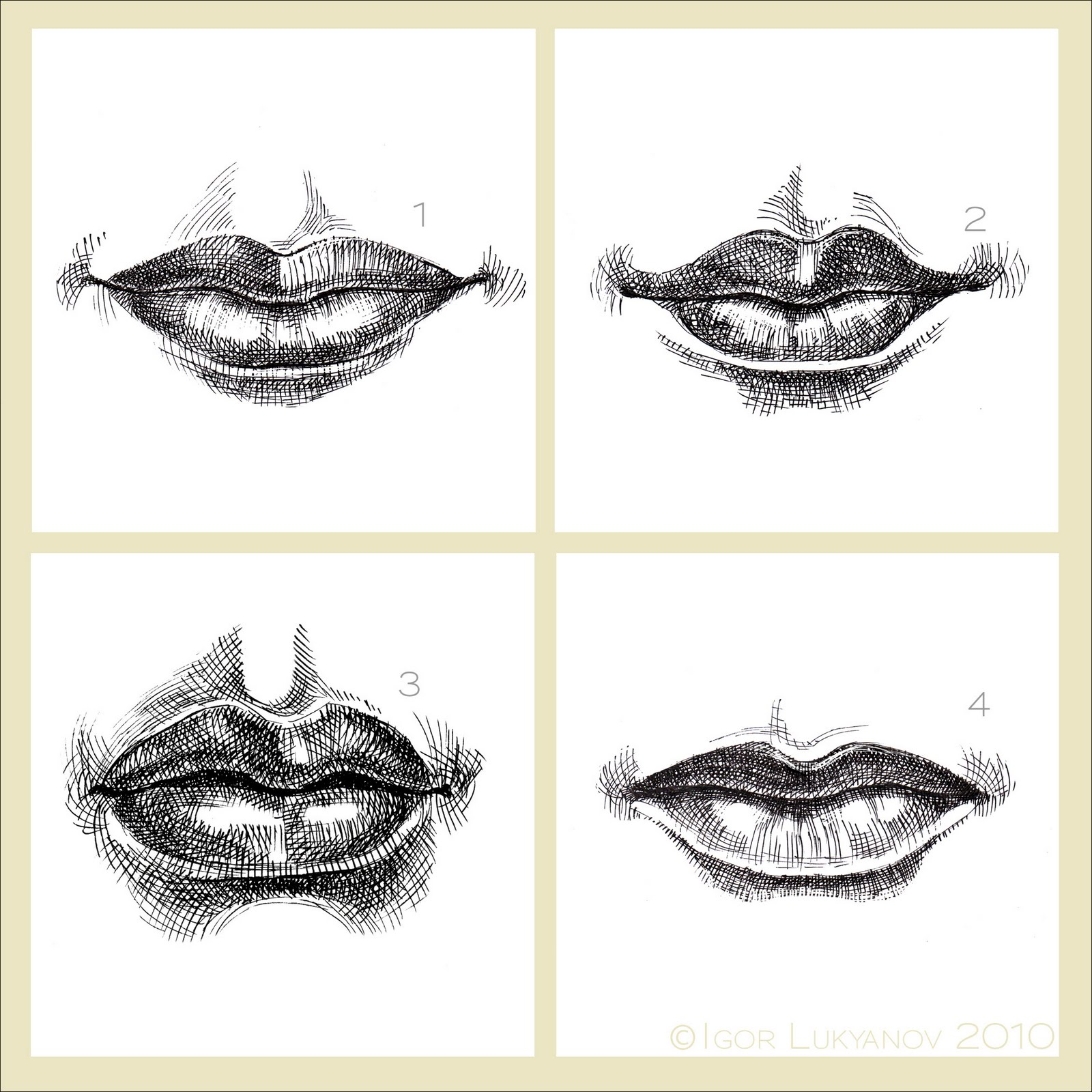 1600x1600 Copy Of Art Drawing The Mouth