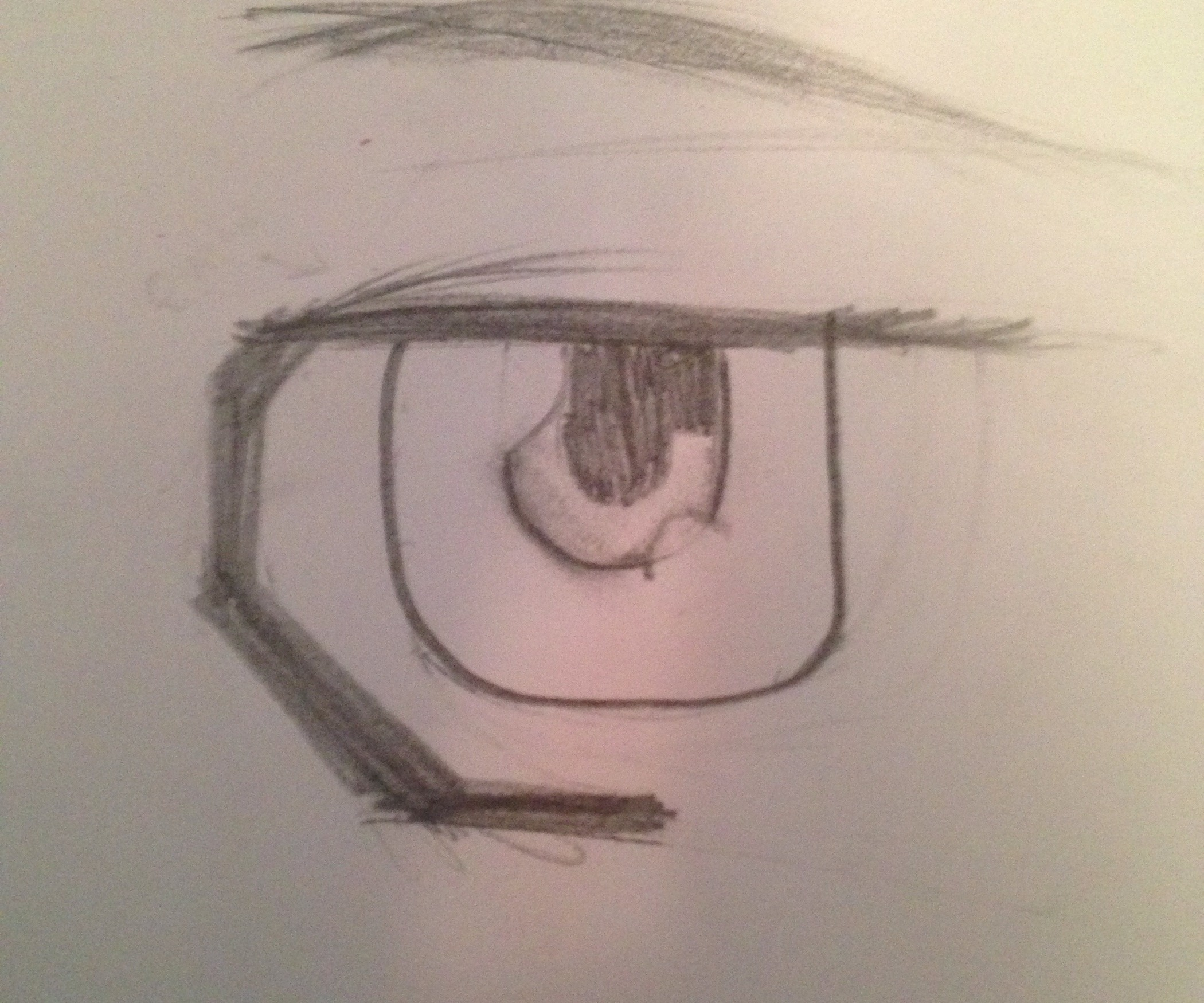 2100x1750 How To Draw Male Mangaanime Eyes 5 Steps