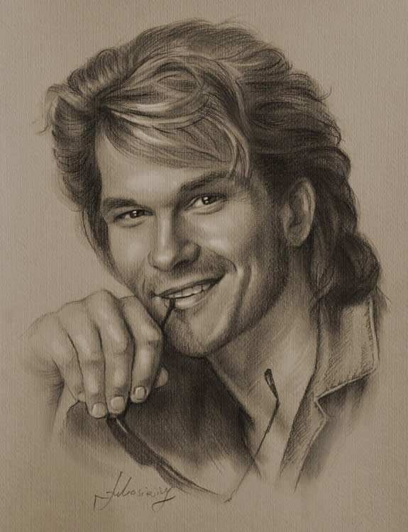 Pencil Drawings Male Sketches
