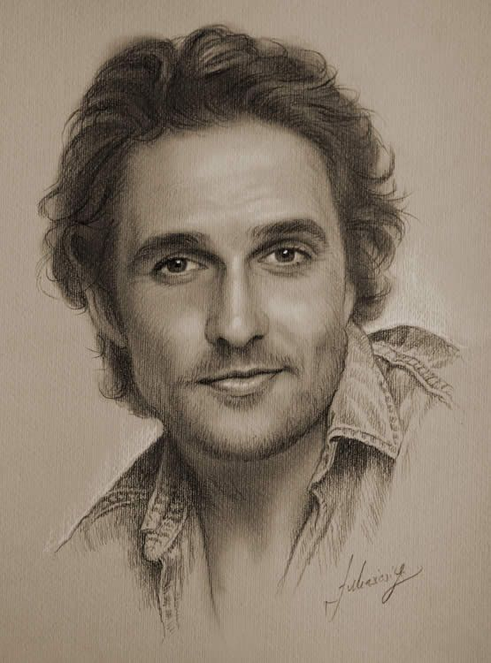 555x750 Mathew 50 Ultra Realistic Male Portrait Drawings People