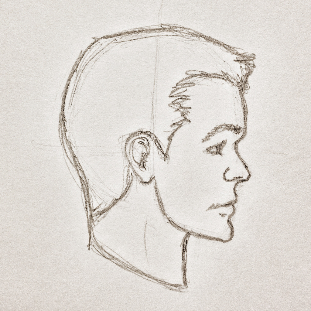 1024x1024 The World's Newest Photos Of Pencildrawing And Profile