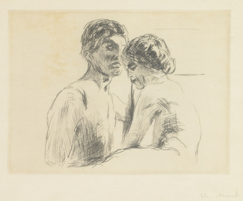 800x663 Artwork by Edvard Munch