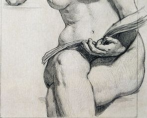 295x237 HOW TO DRAW A PENCIL PORTRAIT OF MEN AND WOMEN WEARING NO CLOTHES