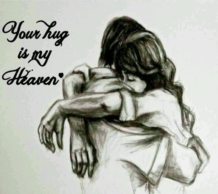 720x641 Man Hugging Woman Drawing